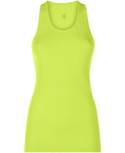 Athlete Seamless Workout Tank, Lime Punch Green | Sweaty Betty