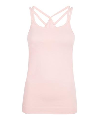 Namaska Yoga Tank, Liberated Pink | Sweaty Betty