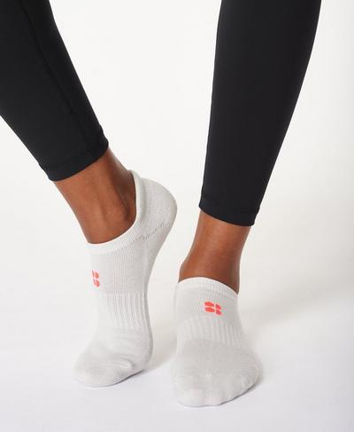 Workout Sneaker Socks 3 pack, Black Multi | Sweaty Betty