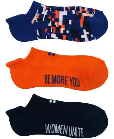 Workout Socks 3 Pack, Shocking Orange | Sweaty Betty