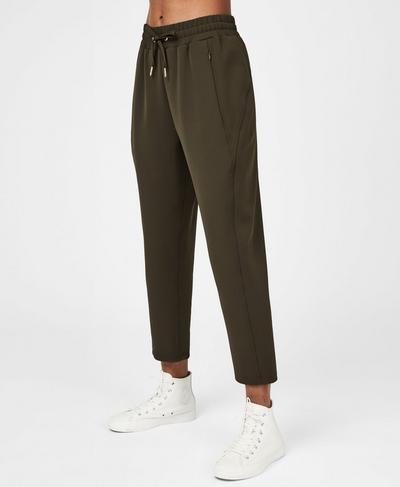 Explorer Trousers, Dark Forest Green | Sweaty Betty