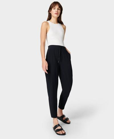 Explorer Lightweight Pants, Black | Sweaty Betty