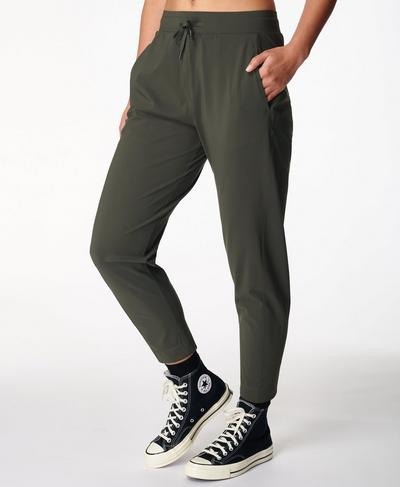 "Explorer 25"" Pants, Dark Forest Green | Sweaty Betty"