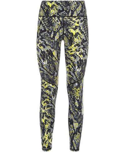 Power Workout Leggings, Citrus Green Snake Print | Sweaty Betty