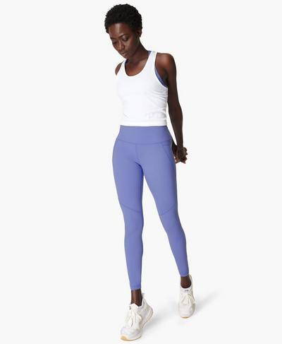 Power Workout Leggings, Cornflower Blue | Sweaty Betty