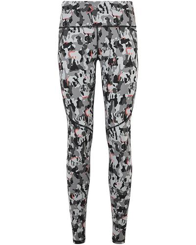 Power Workout Leggings, Grey Elephant Camo Print | Sweaty Betty