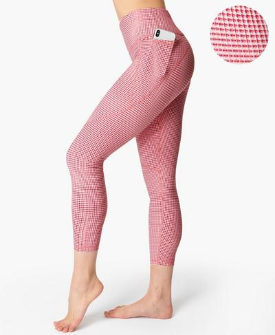 Power 7/8 Gym Leggings, Pink Sb Move Print | Sweaty Betty
