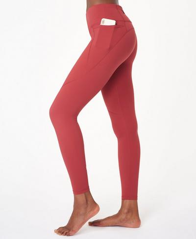 Power Workout Leggings, Renaissance Red | Sweaty Betty