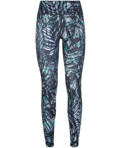 All Day Contour 7/8 Workout Leggings, Beetle Blue Hot to Croc Print | Sweaty Betty