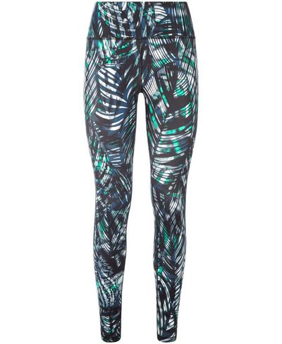 All Day Contour Workout Leggings, Beetle Blue Hot to Croc Print | Sweaty Betty