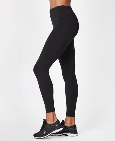 All Day Gym Leggings Leggings, Black | Sweaty Betty