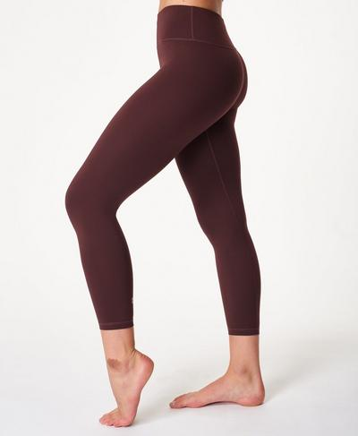 All Day 7/8 Gym Leggings, Black Cherry Purple | Sweaty Betty