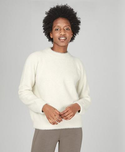 Islington Jumper, Winter White | Sweaty Betty