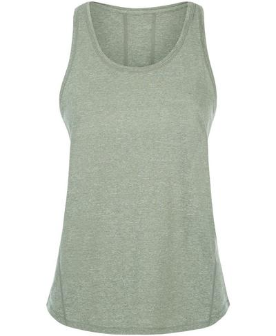Energise Workout Tank, Sage Green | Sweaty Betty