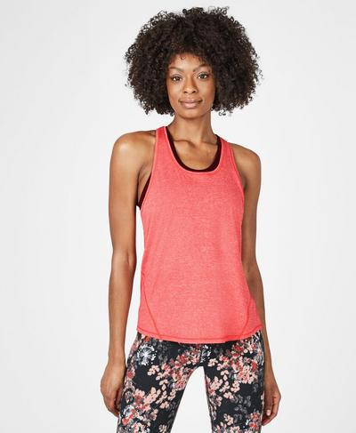 Energise Workout Vest, Tulip Red | Sweaty Betty