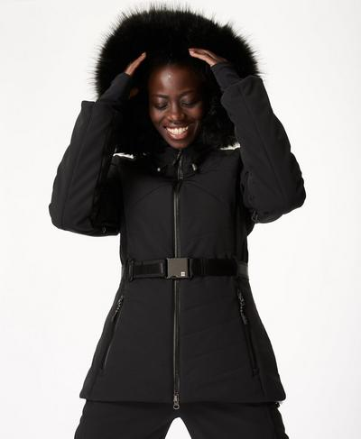 Method Ski Jacket, Black | Sweaty Betty