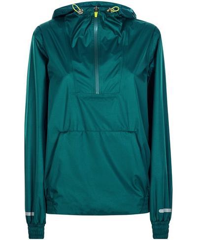 Anorak Overhead Jacket, June Bug Green | Sweaty Betty
