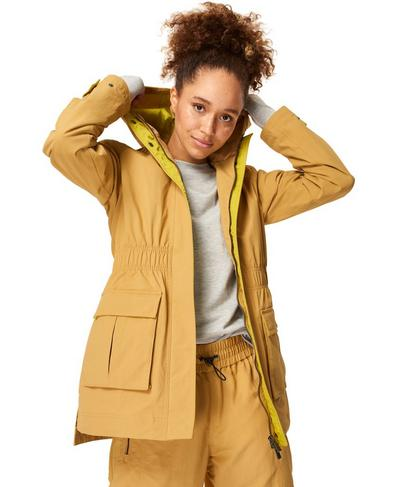 Snowdonia Waterproof Hiking Jacket, Camel Brown | Sweaty Betty