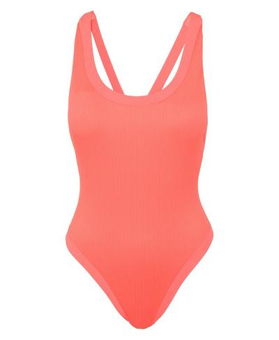Voyage Swimsuit, Fluro Flash Pink | Sweaty Betty