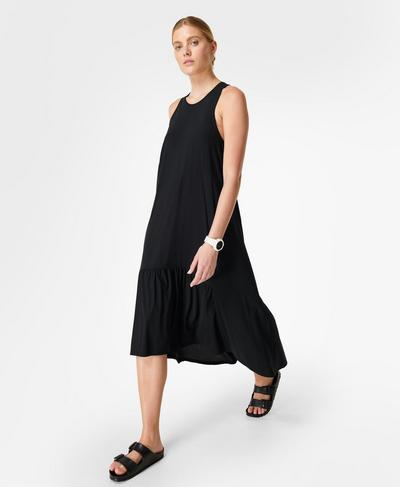 Explorer Ace Midi Dress, Black | Sweaty Betty