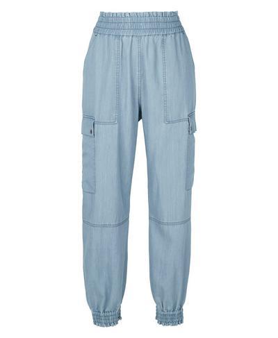 Iris 7/8 Cargo Pants, Chambray Blue   Sweaty Betty