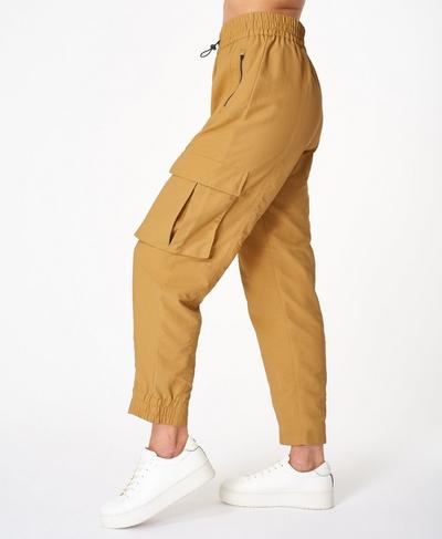 Snowdonia Cuffed Hiking Pants, Camel Brown | Sweaty Betty