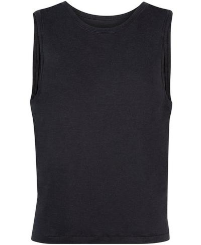 Tranquil Yoga Vest, Slate Grey | Sweaty Betty