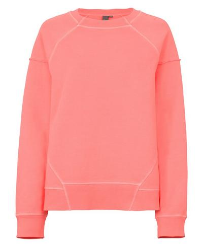 Oversized Surf Sweatshirt, Fluro Flash Pink | Sweaty Betty