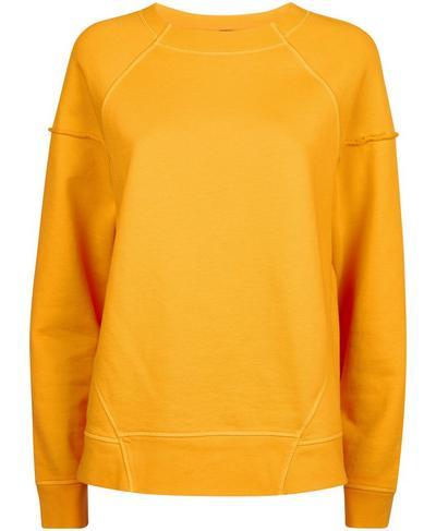 Oversized Surf Sweatshirt, Zinnia Yellow | Sweaty Betty