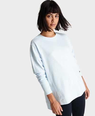 After Class Sweatshirt, Echo Blue | Sweaty Betty