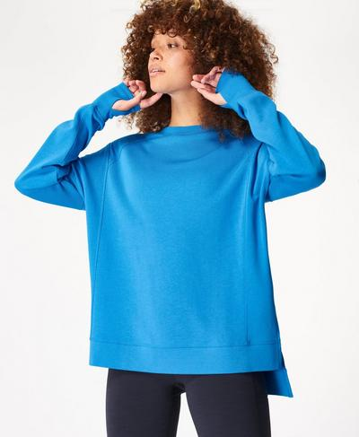 After Class Sweatshirt, Electric Blue | Sweaty Betty
