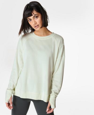After Class Sweatshirt, Glacier Green | Sweaty Betty