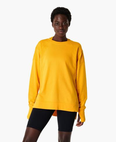 After Class Sweatshirt, Golden Yellow | Sweaty Betty