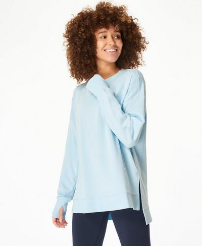 After Class Jumper, Ice Blue | Sweaty Betty