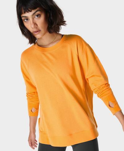 After Class Sweatshirt, Papaya Orange | Sweaty Betty