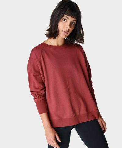 After Class Sweatshirt, Renaissance Red | Sweaty Betty
