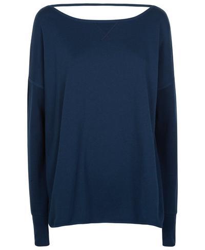 After Class Sport Sweatshirt, Beetle Blue | Sweaty Betty