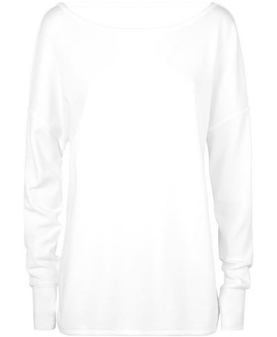 After Class Sport Sweatshirt, White | Sweaty Betty