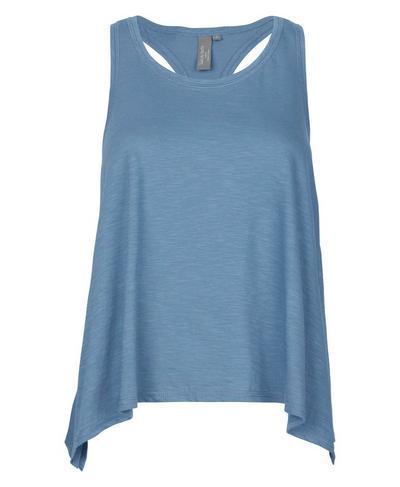 Handkerchief Hem Tank, Stellar Blue | Sweaty Betty