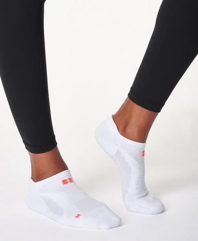 Technical Run Socks, White | Sweaty Betty