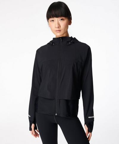 Fast Track Running Jacket, Black | Sweaty Betty