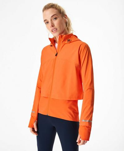 Fast Track Running Jacket, Murcott Orange | Sweaty Betty
