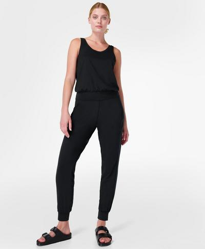 Gary Jumpsuit, Black | Sweaty Betty
