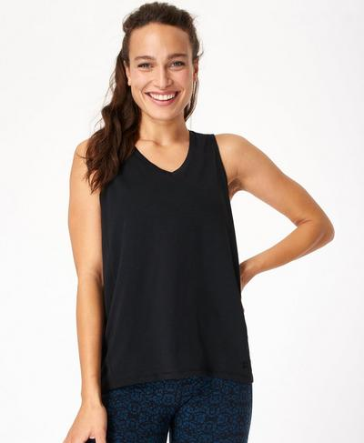 Refresh Tank, Black | Sweaty Betty
