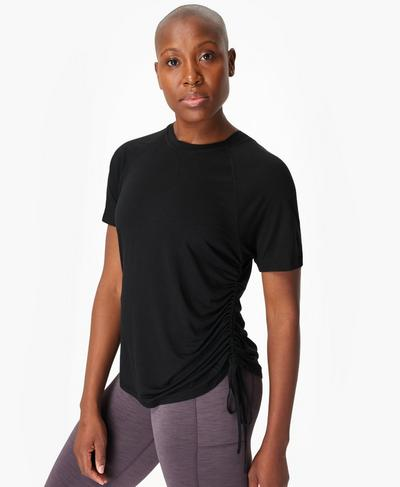 Modify T-shirt, Black | Sweaty Betty