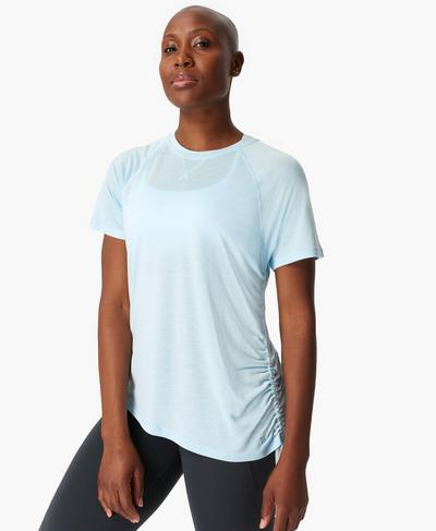 Modify T-shirt, Ice Blue | Sweaty Betty