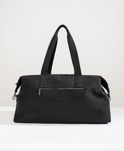 Utility Weekender Holdall, Black | Sweaty Betty