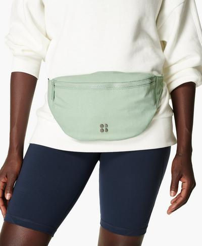 Utility Bum Bag, Salix Green | Sweaty Betty
