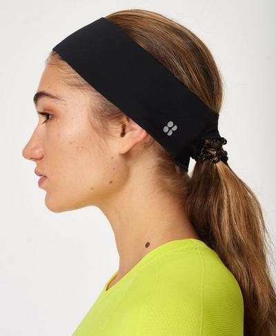 Power Headband, Black | Sweaty Betty