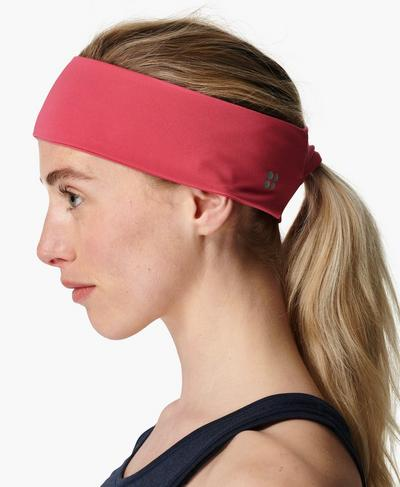 Power Headband, Tayberry Pink | Sweaty Betty